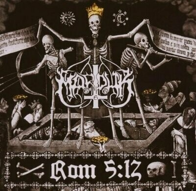 Marduk - Rom 5:12 (Re-Issue 2018) - 2LP