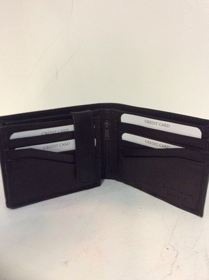 Men leather wallet brand paul & taylor