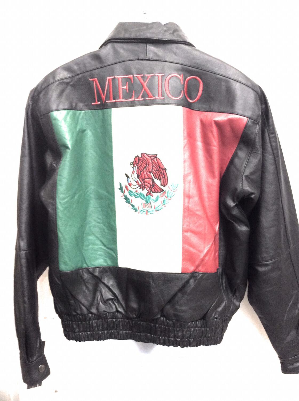 Mexico Leather Jacket