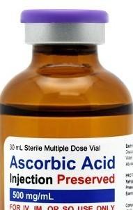 Vitamin C (Ascorbic Acid) only - 30 dose Self-Injection Kit