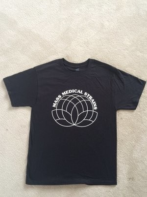 Mass Medical Strains T-Shirt Classic Logo Style