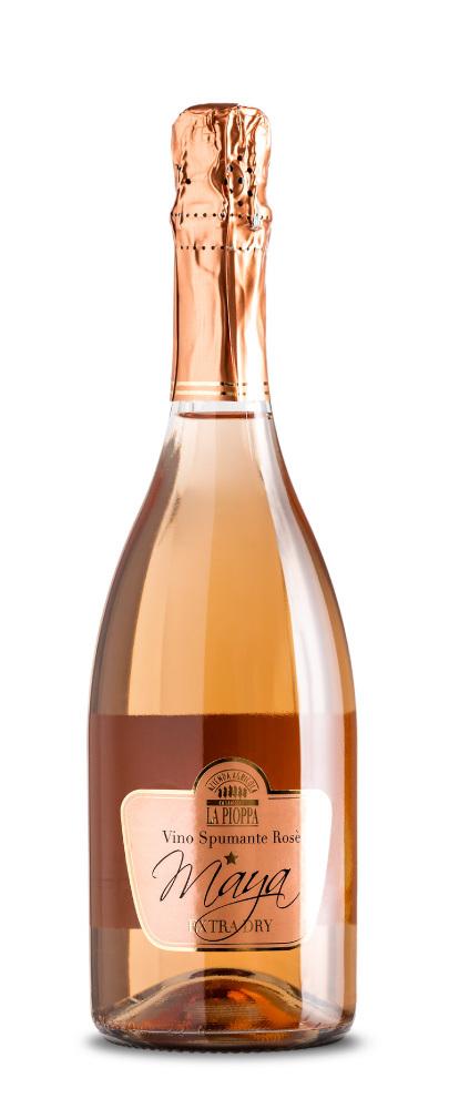 Spumante rosè extra dry Maya 00009