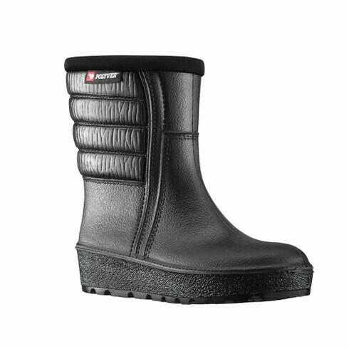 Polyver Winter Boot Low, lämpösaappaat, Musta