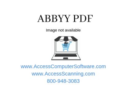 ABBYY FineReader 15 Corporate, Volume License (per Seat), Perpetual
