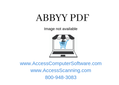 ABBYY Finereader 15 Corporate Goverment (Perpetual)