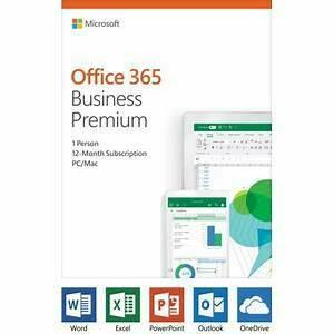 Microsoft Office365 Business Premium - 1 year - 1 user
