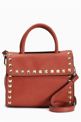 Red Studded Mini Tote Next Bag