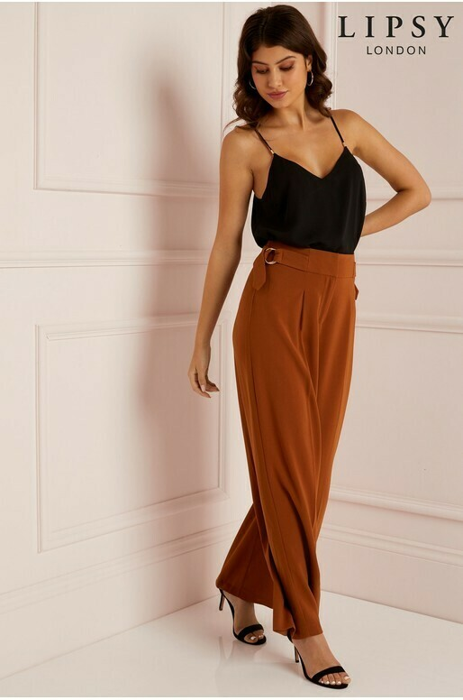 Lipsy Tailored D-Ring Trousers