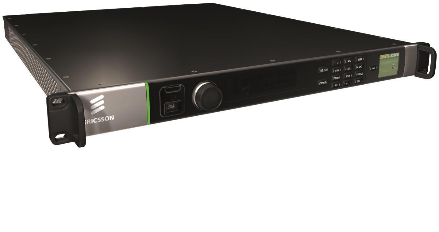 CID NEW ERICSSON AVP3000 VOYAGER EVENTS 3G HD SD SDI ENCODER DVB-S2 L Band TxOut