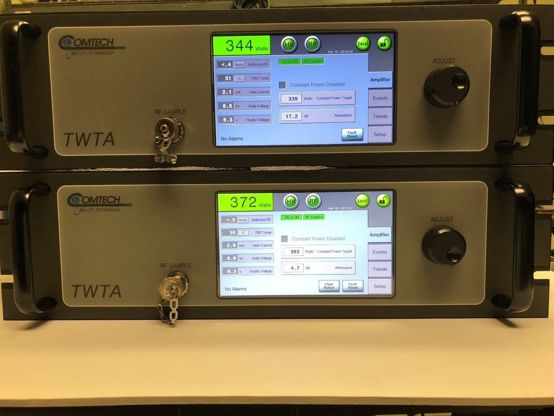 Xicom XTRT-400K 400W KU BAND INDOOR TWTA, Linearized -Extended KU 13.75-14.5 GHz