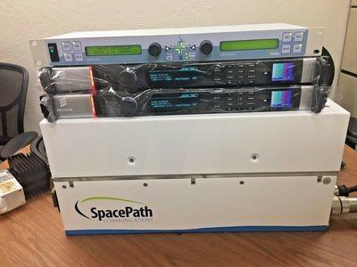 Redundant HD Uplink:2x400W SpacePath STA1340 eKU TWTA HPAs 2x Ericsson AVP-3000