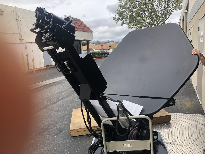 General Dynamics AVL Vertex RSI 1.5m SMK-LT Ku Band SATELLITE Uplink ANTENNA
