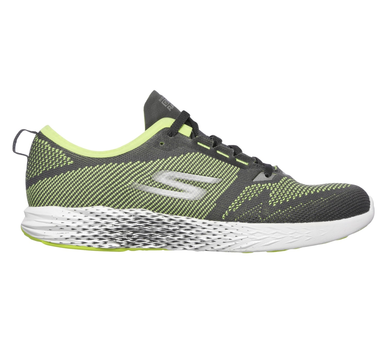 Skechers GO MEB Razor 2 heren grey/lime