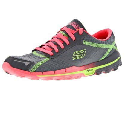 Skechers GORUN 2 dames grey/pink