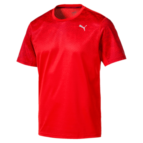 Puma Graphic s/s t-shirt heren flame scarlet