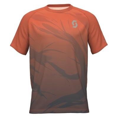 Scott t-shirt Kinabalu heren orange/black