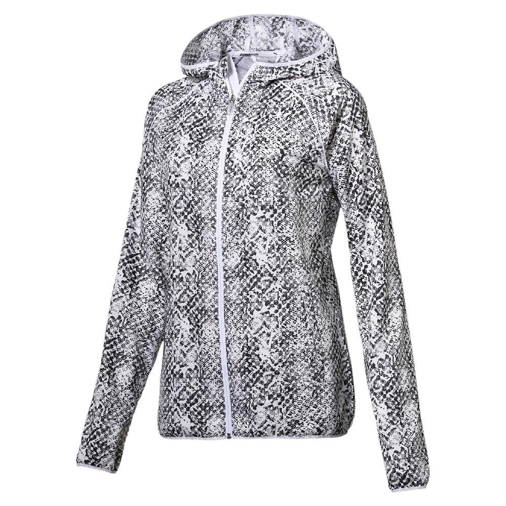 Puma Graphic Jacket dames zwart/wit