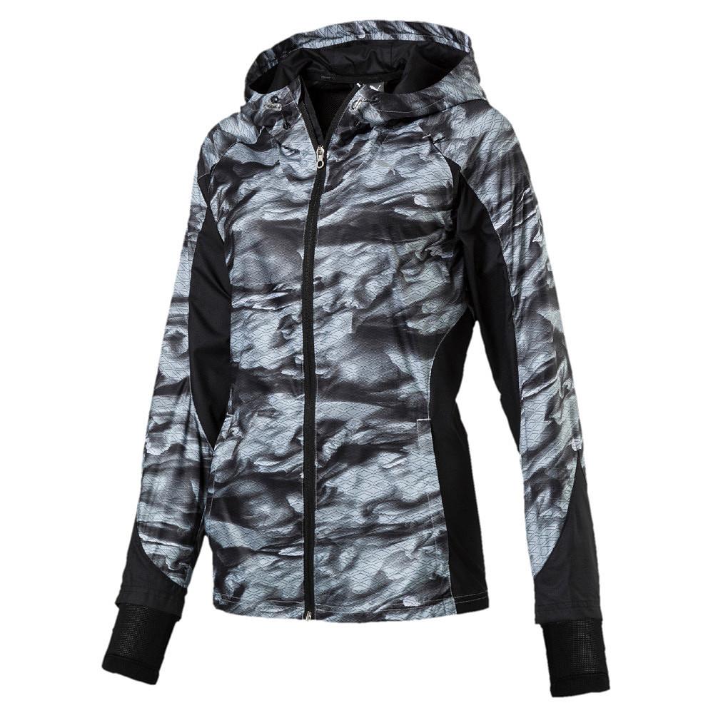 Puma Graphic Jacket dames zwart