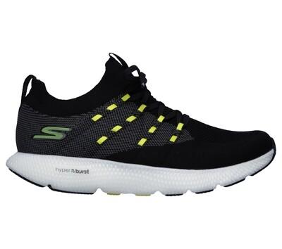 Skechers GO RUN 7 heren black/white