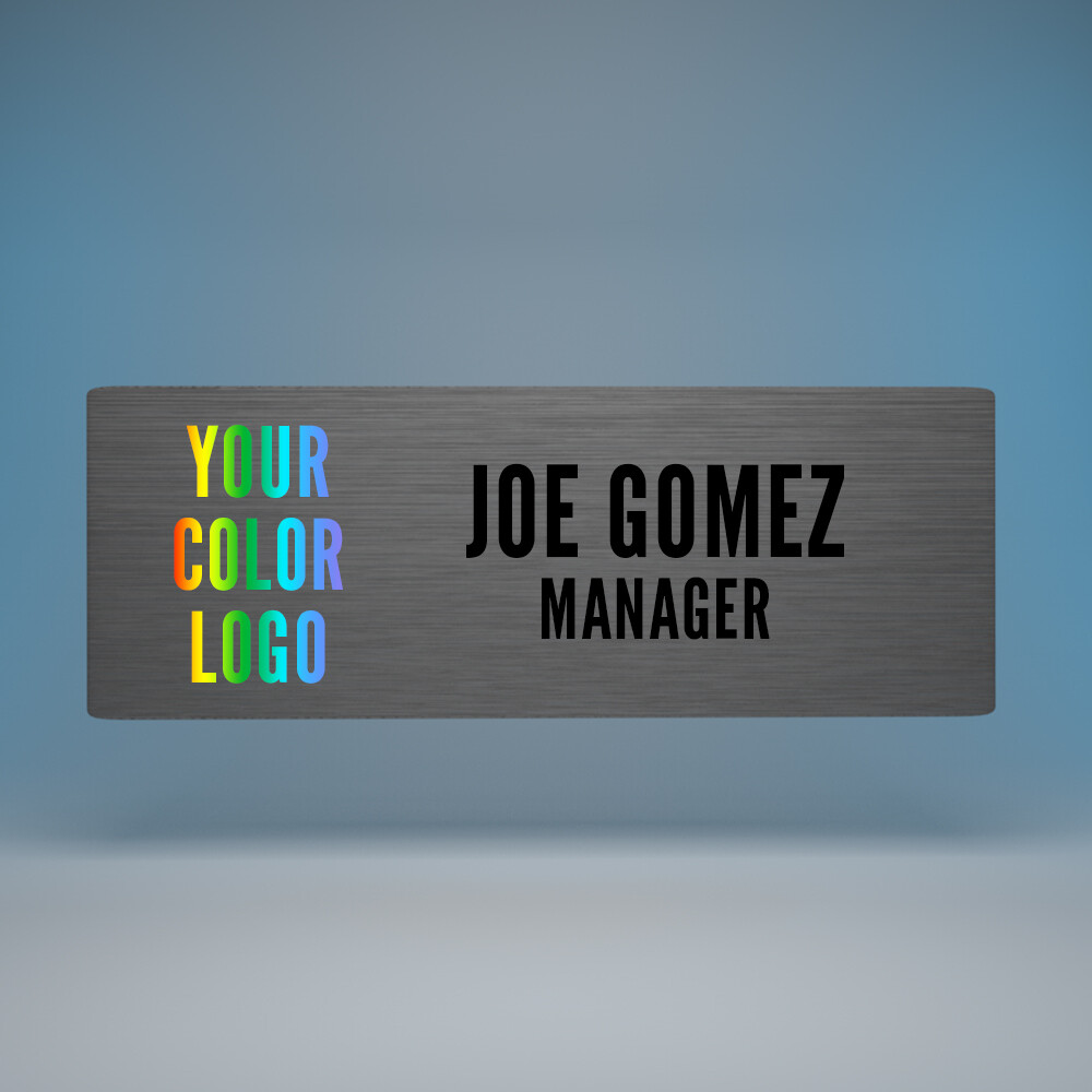 Magnetic Name Badge 3