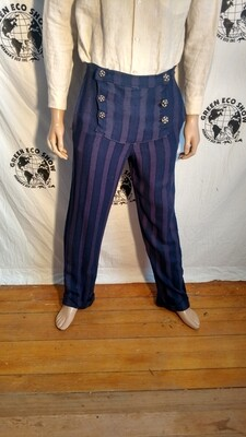 Mens doyble fly Steampunk Pants 32 USA