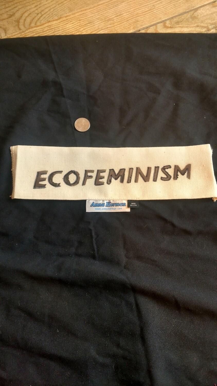 Ecofeminism patch USA