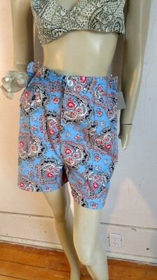 Womens sweatheart print shorts L 31