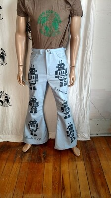 Techno Junkie Robot Pants 30 X 33 Hermans Eco