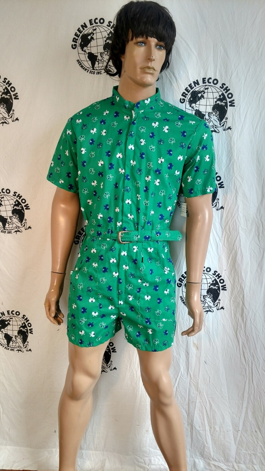 Mens Rompers M to L Butterflies USA