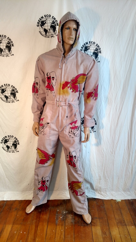 Dragon knight  mens L Jumpsuit Hermans Eco USA
