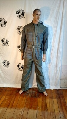 Mens Plaid jumpsuit M to L Hermans Eco USA