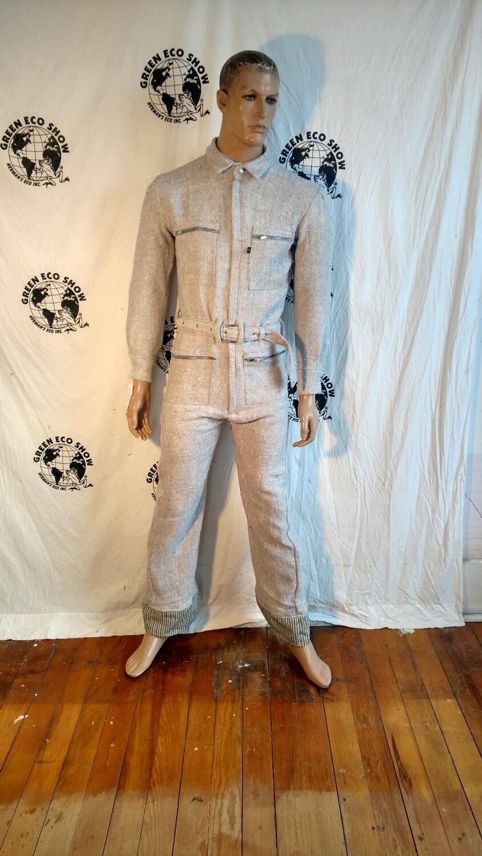 Mens silk jumpsuit Med Hermans USA