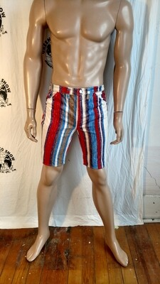 Mens Striped corduroy Shorts  31