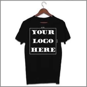 40 tshirts with One Color Logo