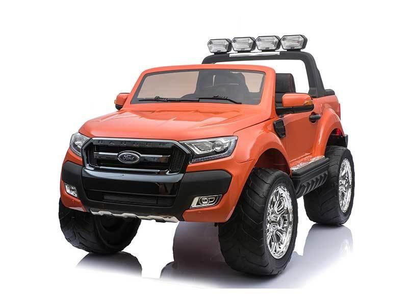 AUTO MACCHINA ELETTRICA PER BAMBINI Pickup Ford Ranger Luxury 12V CON TV TOUCH SCREEN 2 posti PRODOTTO UFFICIALE (Full Optional)