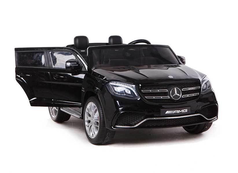 AUTO MACCHINA ELETTRICA PER BAMBINI Mercedes Gls 2 POSTI 12v CON VERNICE METALLIZZATA PRODOTTO UFFICIALE