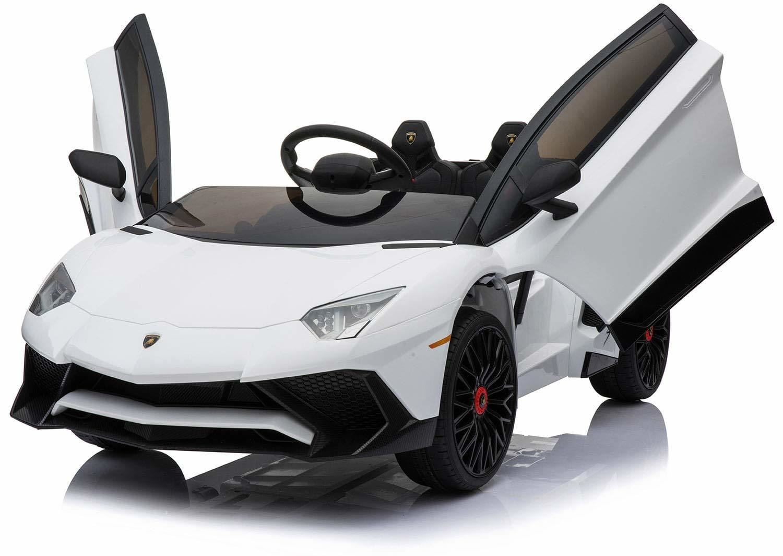 AUTO MACCHINA ELETTRICA PER BAMBINI Lamborghini Aventador SV 12v PRODOTTO UFFICIALE