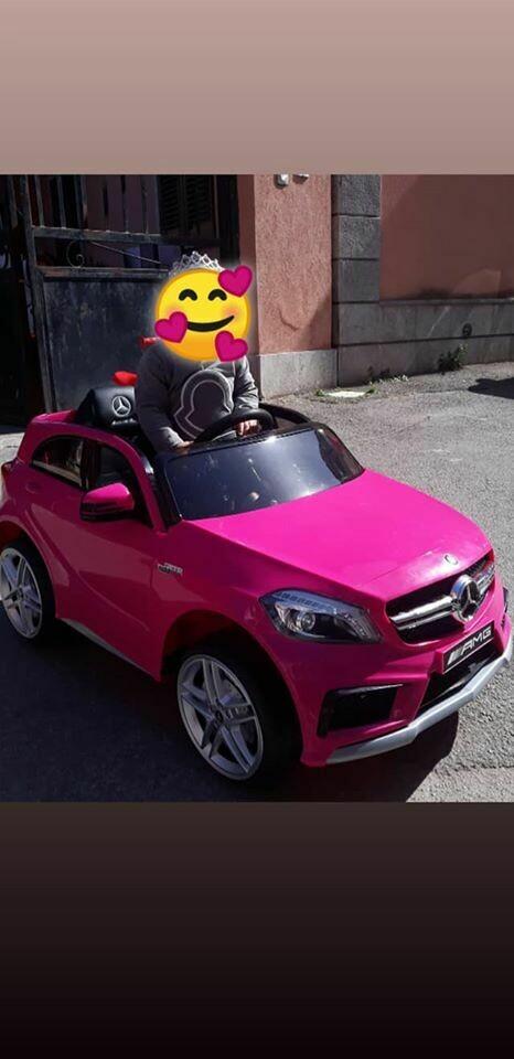 AUTO MACCHINA ELETTRICA PER BAMBINI Mercedes A45 AMG  12v PRODOTTO UFFICIALE