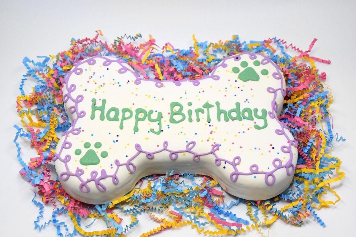 Decorated Bone Cake