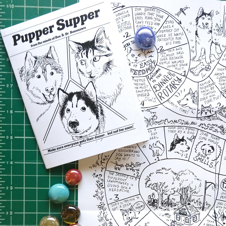 Pupper Supper (board game zine)