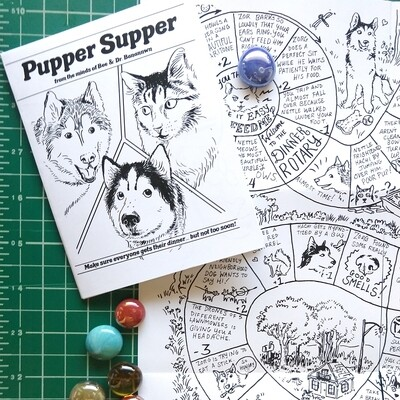 Pupper Supper (board game zine)