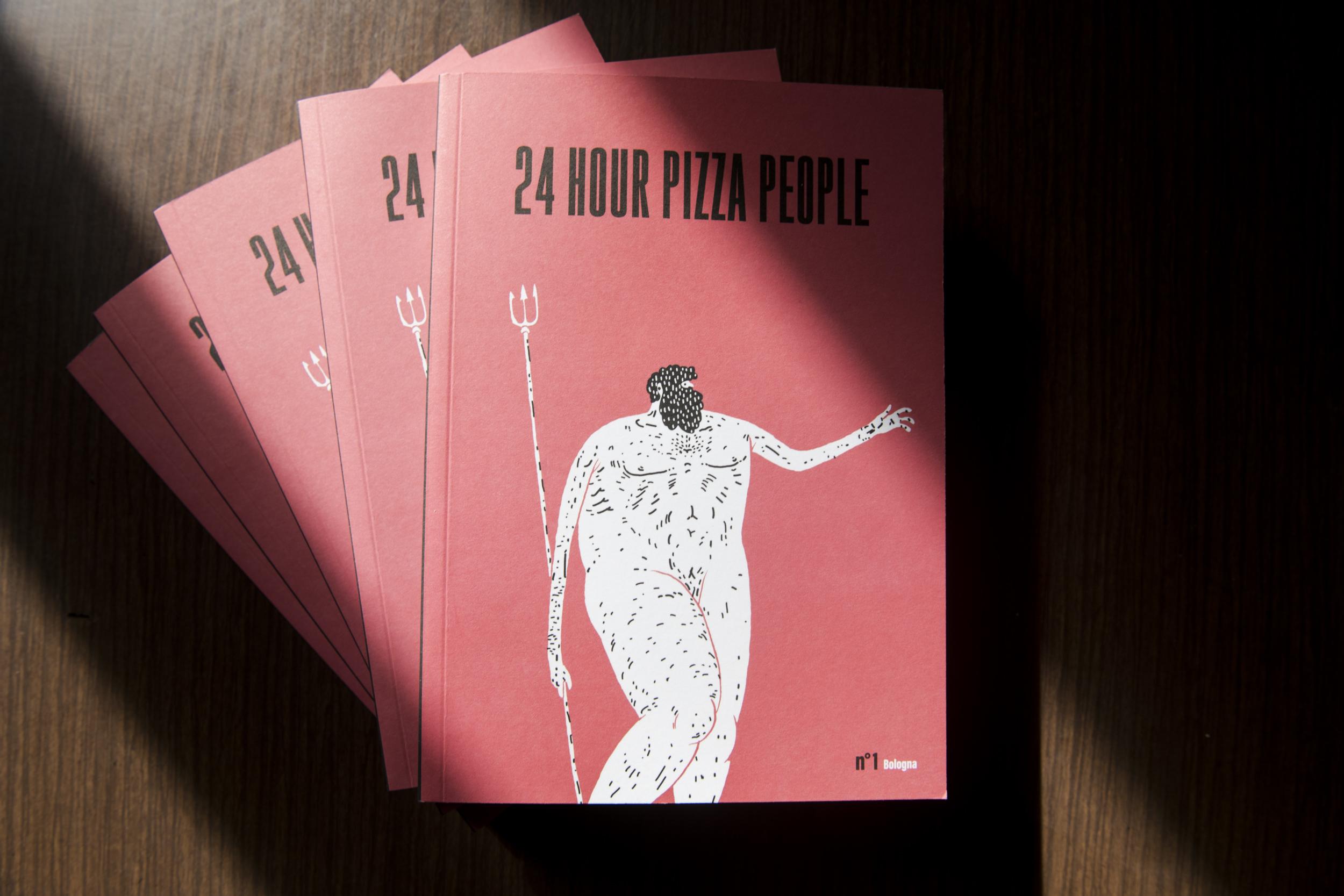 24 HOUR PIZZA PEOPLE - MAGAZINE - BOLOGNA - PREZZO SPECIALE 10 EURO (prezzo copertina 15 euro) 00001