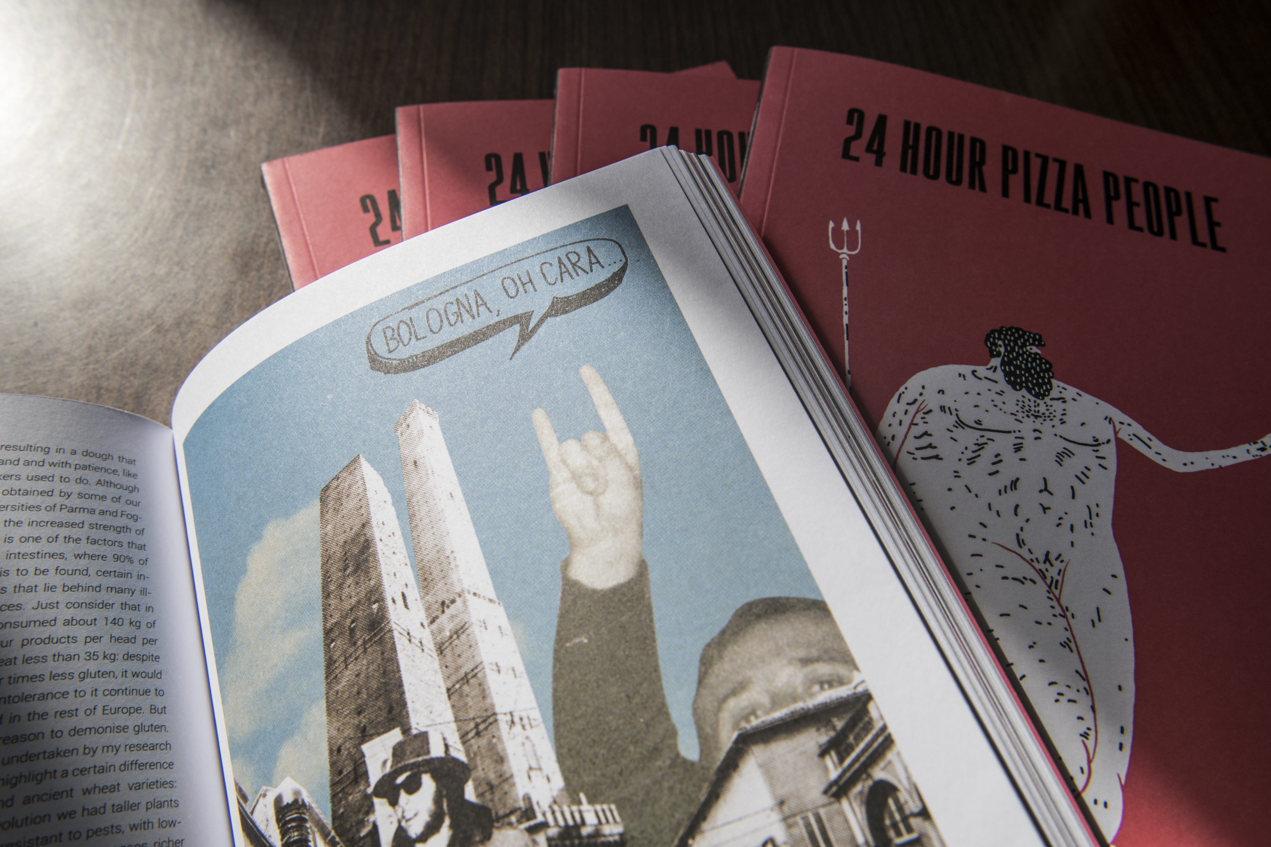 24 HOUR PIZZA PEOPLE - MAGAZINE - BOLOGNA - PREZZO SPECIALE 10 EURO (prezzo copertina 15 euro)