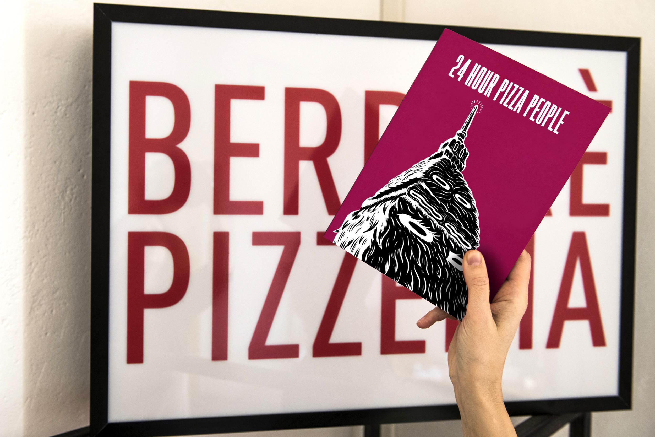 24 HOUR PIZZA PEOPLE  - MAGAZINE N°2  - TORINO - PREZZO SPECIALE 10 EURO (prezzo copertina 15 euro)