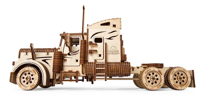 """ხის მექანიკური მოდელი """"სატვირთო მანქანა მძიმე ბიჭი VM-03"""""""
