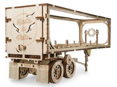 """ხის მექანიკური მოდელი """"მისაბმელი სატვირთო მძიმე ბიჭი VM-03-სთვის"""""""