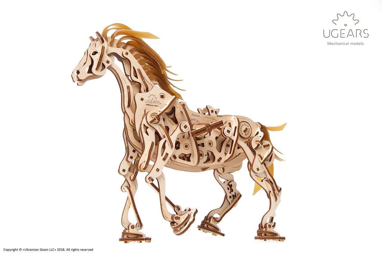 """ხის მოდელი """"მექანიკური ცხენი"""""""