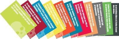 cartes postales vanités modernes