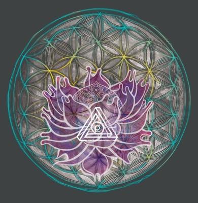Lotus Moon - Unisex T-Shirt