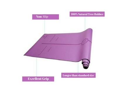 Premium Eco Mat: PU Rubber 4mm PURPLE